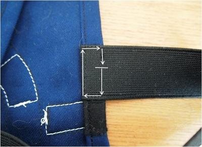四角く縫う